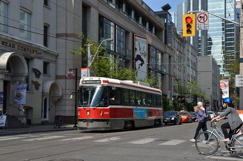 Le tramway de Toronto !