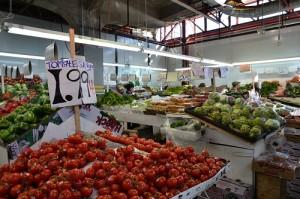 Fruits et légumes au marché Jean-Talon