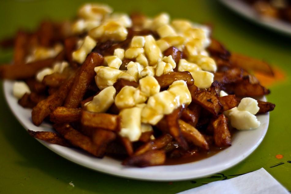 La Poutine, un plat à déguster obligatoirement au moins une fois quand on est au Québec !