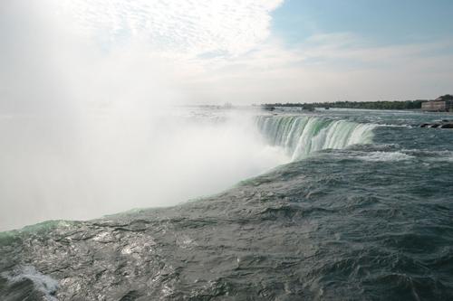 A quelques mètres de Niagara Falls