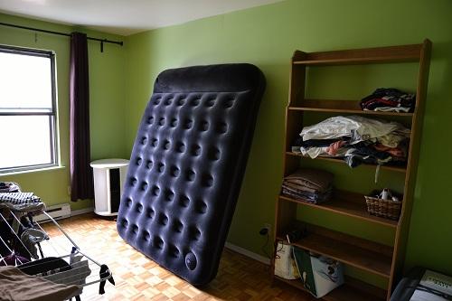 La buanderie, chambre d'amis, chambre de Djack