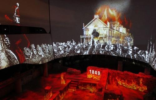 Animation du Musée Pointe-à-Callière