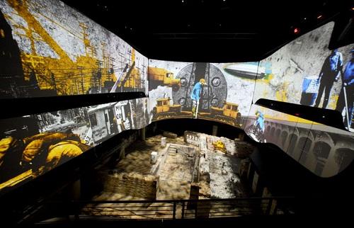 Animation au dessus des ruines