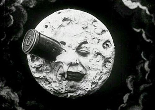 Les premiers effets spéciaux - Le Voyage dans la Lune de  Georges Méliès