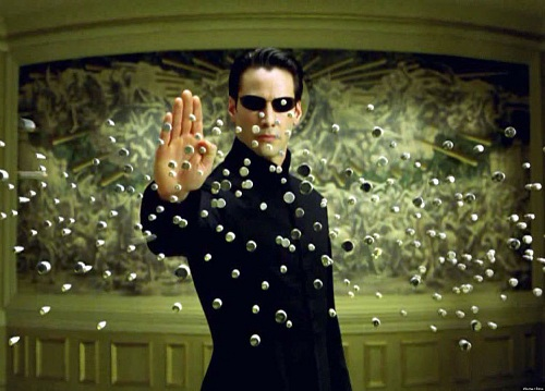 Des effets spéciaux spectaculaires - Matrix