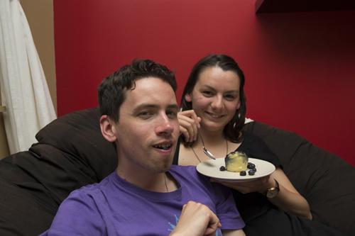 Maël et Virginie sont très gourmands