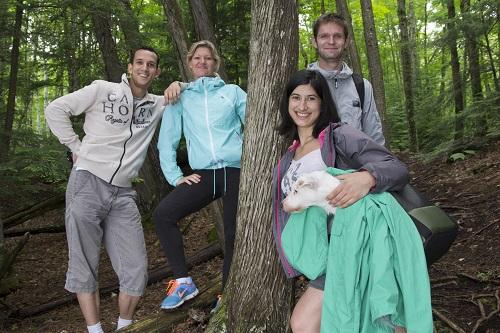 Petite pause dans la forêt