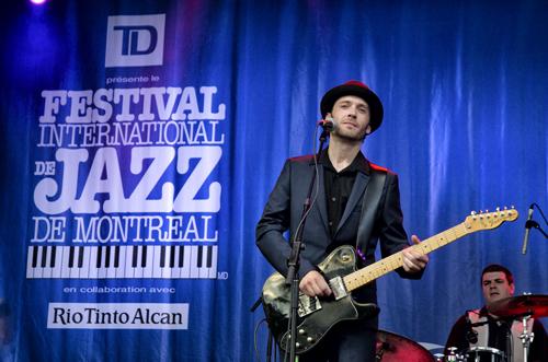 Festival International de Jazz de Montréal 2013 – Ben Racine Band 2013 © Alexandre Rocourt. Tous droits réservés.
