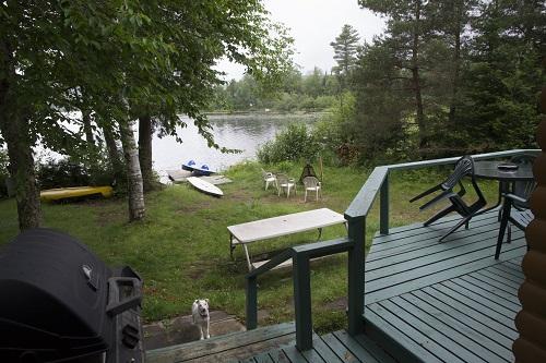 Le jardin et le Lac à la Truite