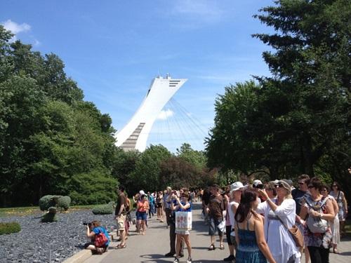Le jardin botanique près du stade olympique
