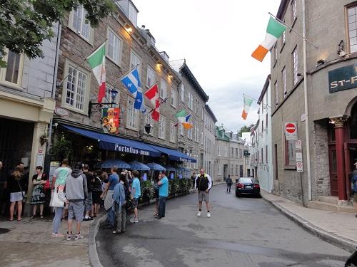 La rue Saint-Jean