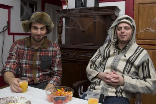 Le bûcheron et le péruvien !