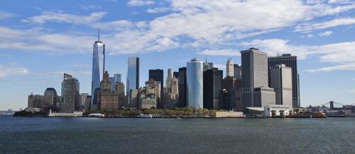 Paysage New-yorkais