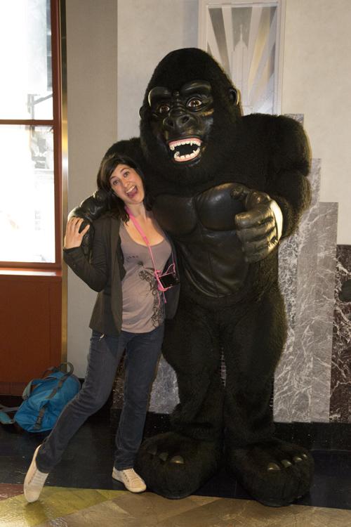 Marion et King Kong