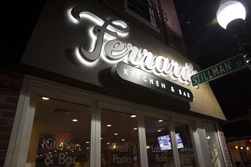 Le restaurant que nous avons choisi.