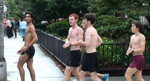 A Harvard, on ne s'habille pas beaucoup pour faire du sport.
