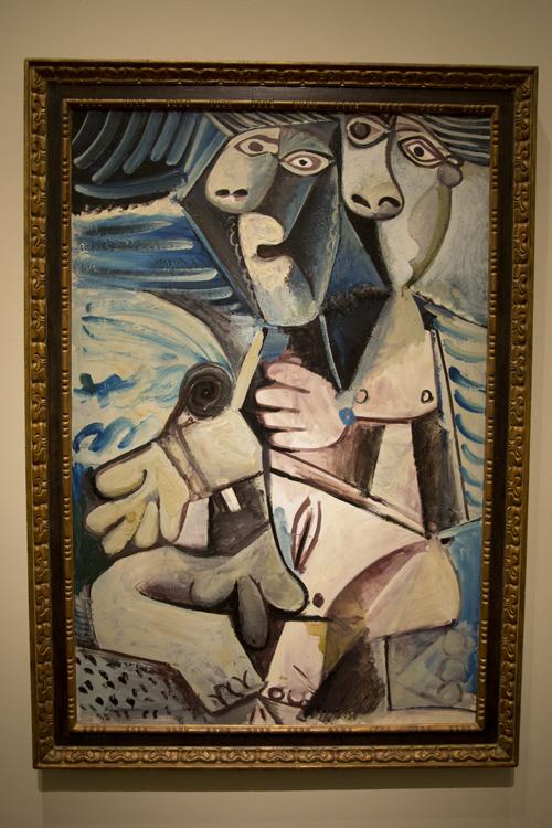 Pablo Picasso - Étreinte