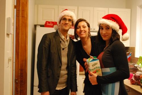 Alex, Eloïse et Marion