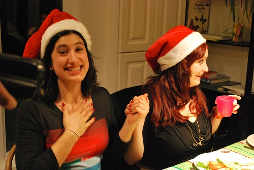 Le bénédicité (une affaire sérieuse le soir de Noël)