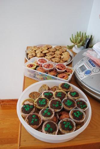 Les muffins et les cookies de Virginie !