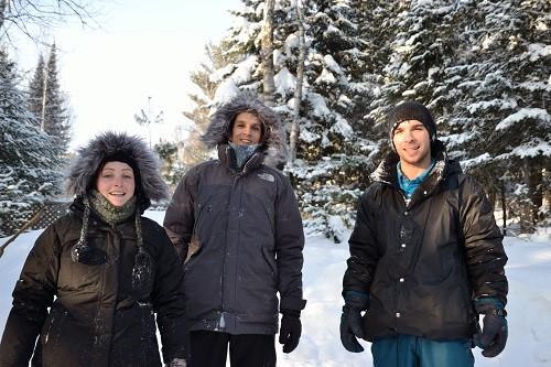 Virginie, Alex et Martin