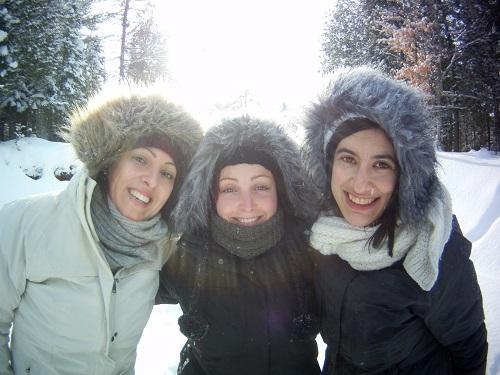 Souriez, vous êtes congelées !