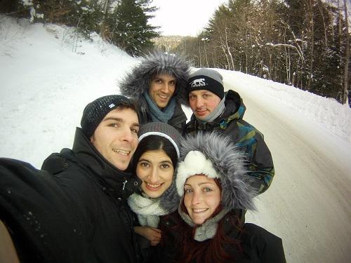 Promenons-nous dans la neige