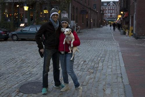 Alex, Marion et Djack