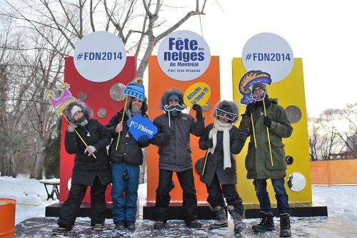 A la Fête des neiges de Montréal, n'oublie pas ta tuque !