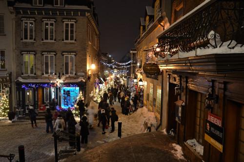 Dans les ruelles du Vieux Québec (toujours)