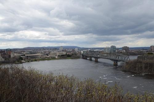 Vue sur la rivière des Outaouais