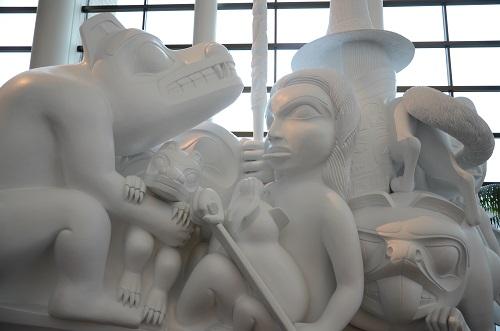 L'esprit de Haida Gwaii créée par Bill Reid
