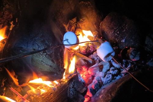 Et des marshmallows grillés !