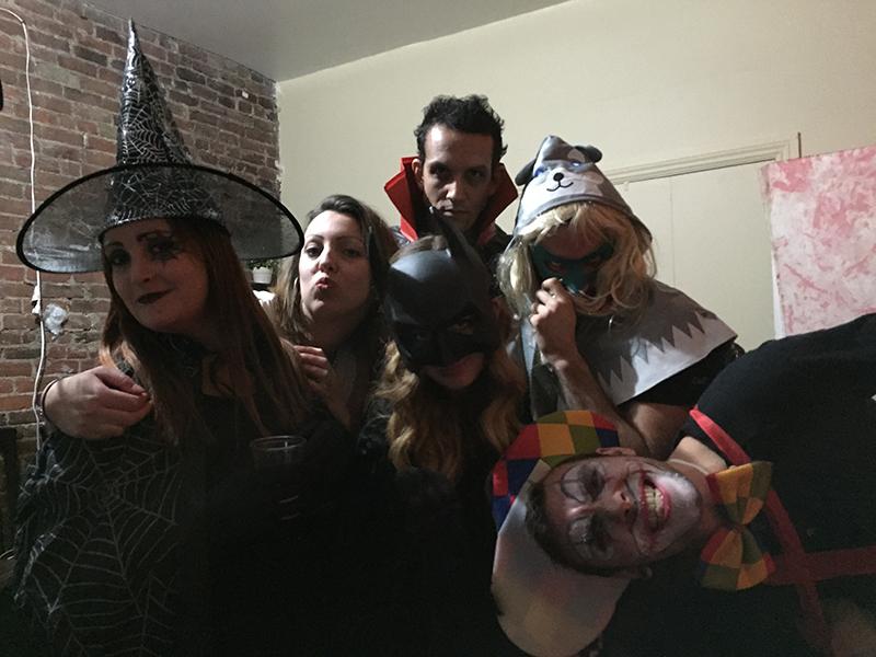 La team halloween