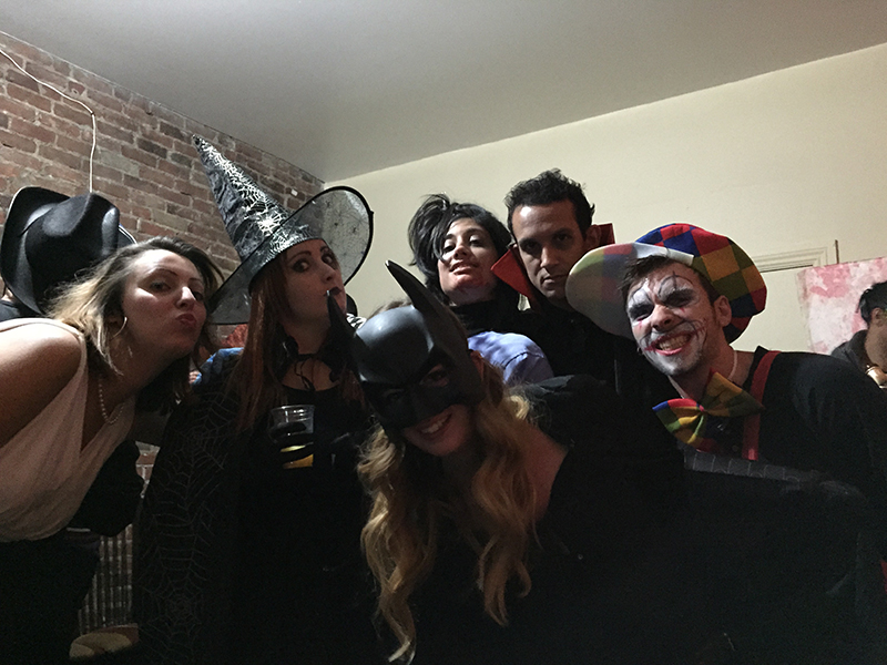 La team halloween - 2