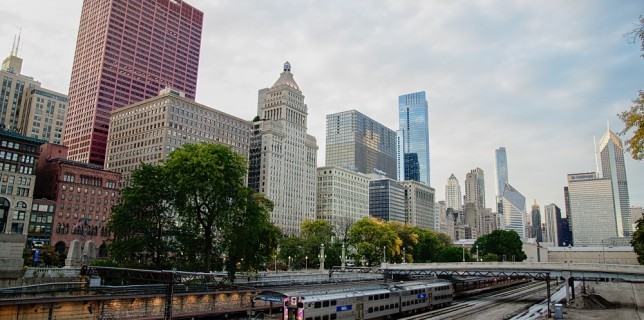 Chicago et son train