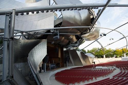 L'amphithéâtre, Jay Pritzker Pavillon