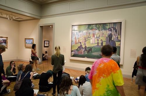 Un dimanche après-midi à la Grande Jatte,Georges Seurat