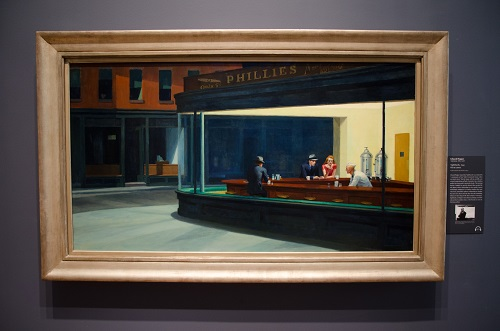 Nighthawks, Edward Hooper, 1942