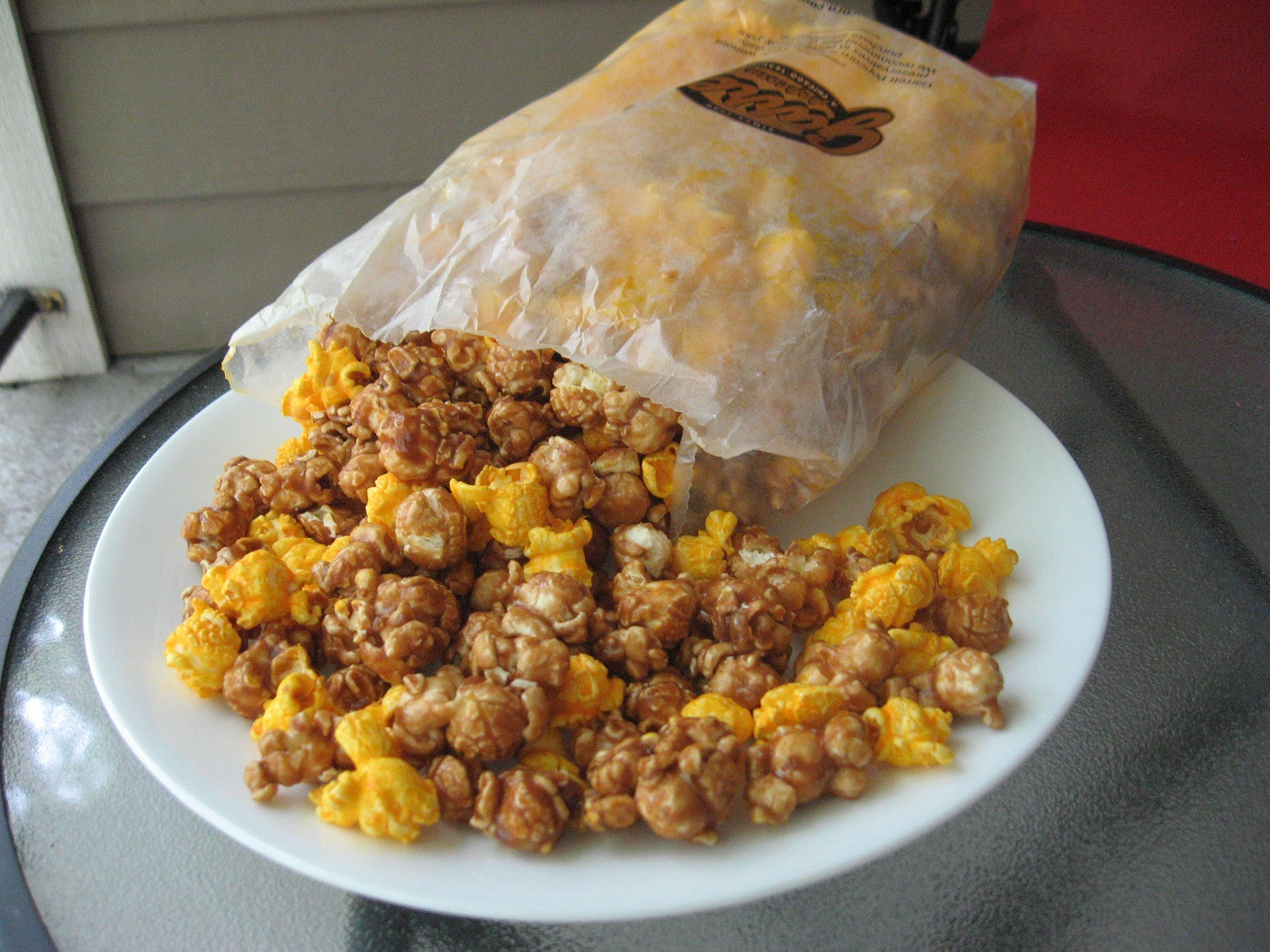Popcorn de chez Garetts