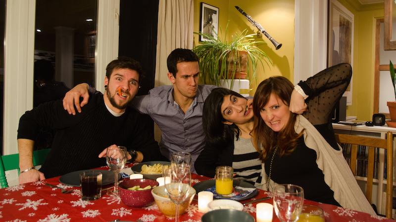 La gang du nouvel an (après quelques verres)