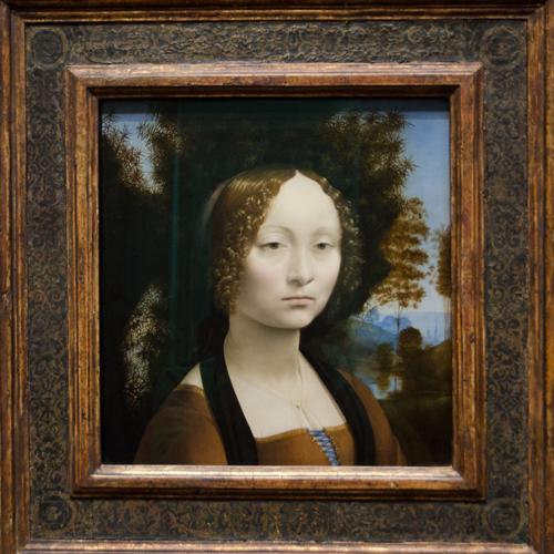 Ginevra de Benci, Léonard de Vinci, 1474–1478